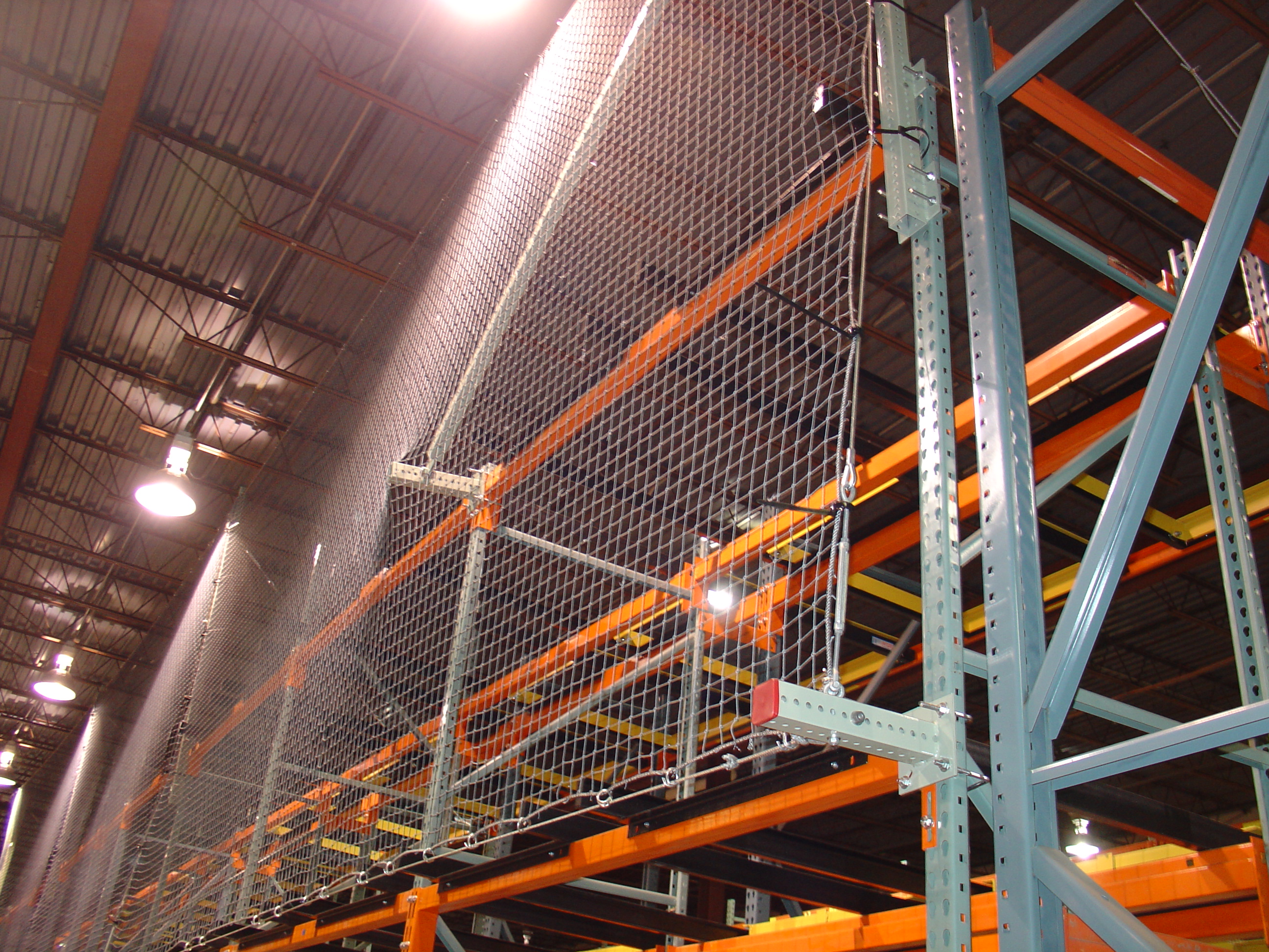 Used Pallet Rack Safety Netting