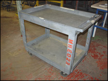 Used Shelf Cart