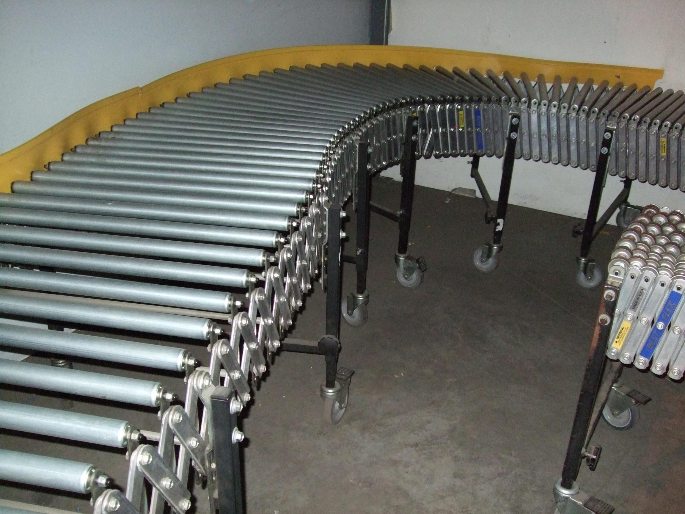 guide rails used for heavy equipment